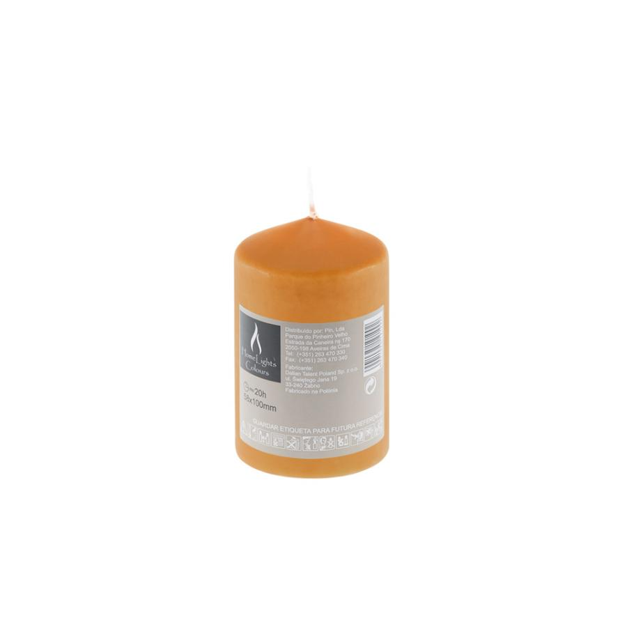 Vela HOME LIGHT Laranja (20h) - Vela decorativa.