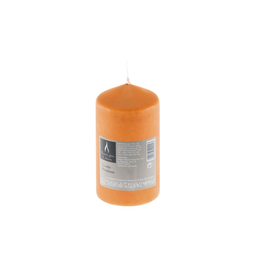 Vela HOME LIGHT Laranja (40h)