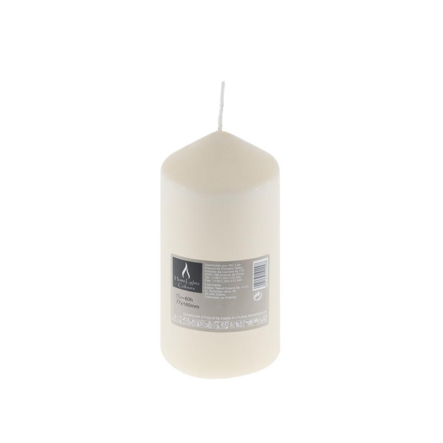Vela HOME LIGHT Marfim (60h) - Vela decorativa.