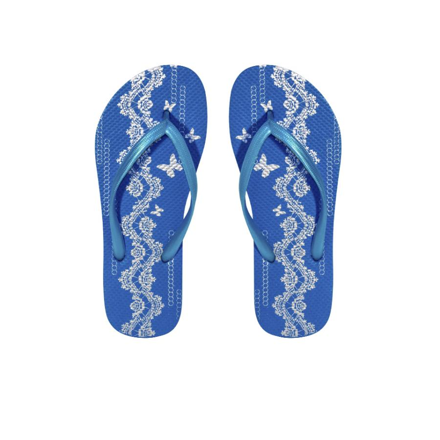 Chinelo BUTTERFLY azul  (35-40)
