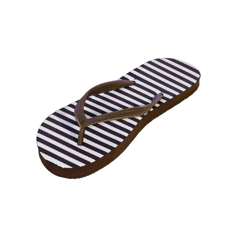 Chinelo SCRIBBLE  castanho (35-40)
